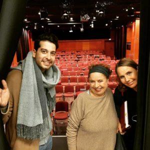 David Daria, Franziska Traub, Marie Theres Relin in Langen