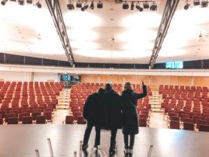 Franziska Traub, Marie Theres Relin, Kerstin Fernström in Eppelheim