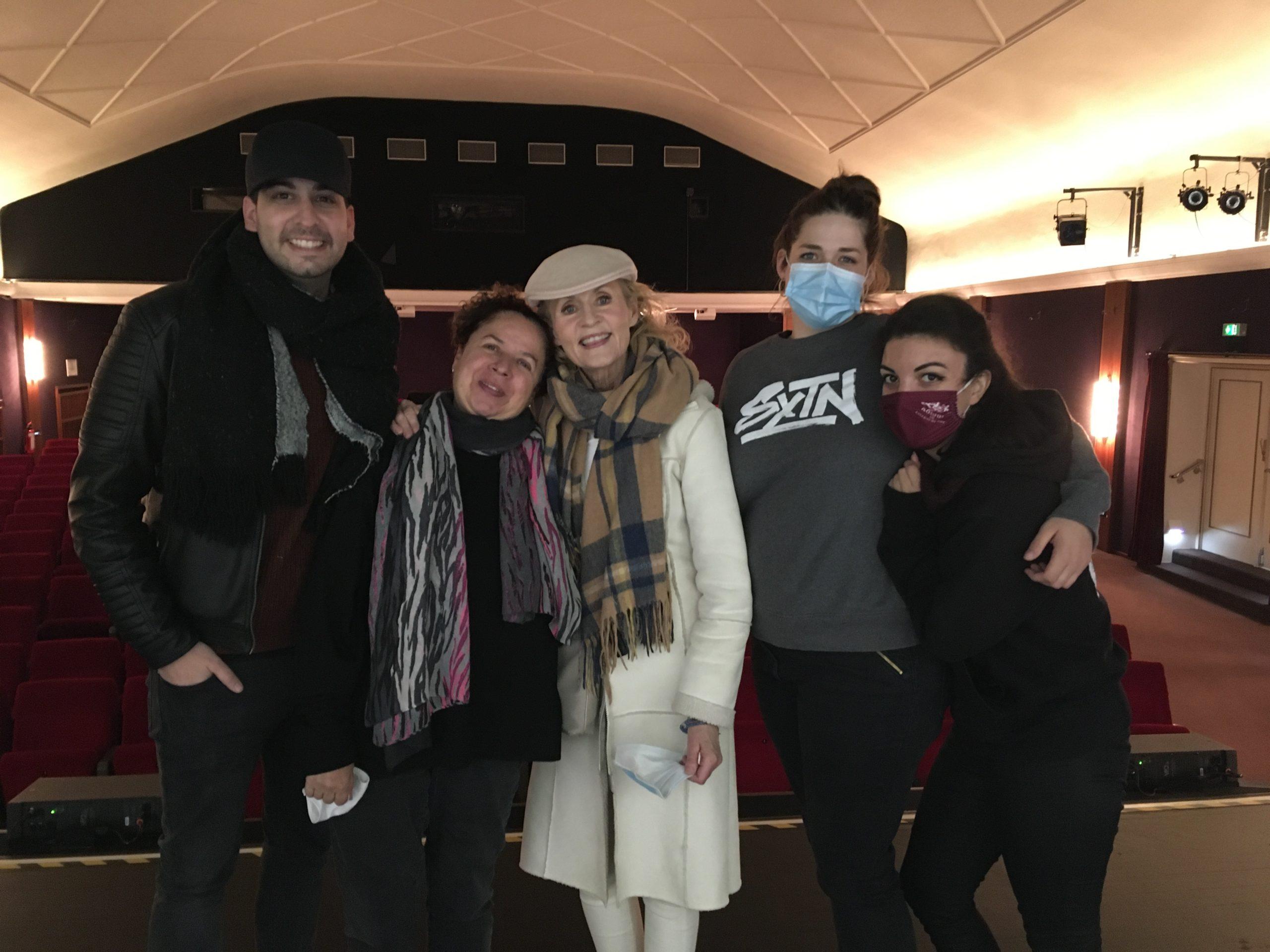David Daria, Franziska Traub, Kerstin Fernström, Verena Mittermeier, Manon Lespinasse